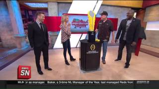 LEGO® Segment on ESPN SportsNation
