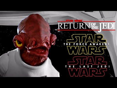 """It's A Trap!"" | All Admiral Ackbar Scenes | Eps 6-8 | Star Wars."