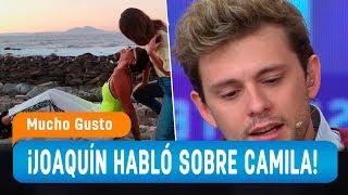 """Joaquín sobre confesión de Camila Recabarren: """"Déjenla ser"""" - Mucho Gusto 2019"""