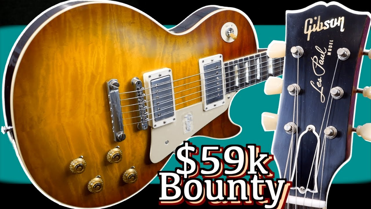 Offering a $59,000 Bounty! | Gibson Custom 60th Anniversary 1960 R0 Les Paul V1 + V3 | Review + Demo