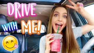Drive With Me! + My Current Playlist!