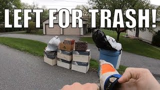 SPRING CLEANING TRASH PICKING FOR FREE STUFF - Ep. 139