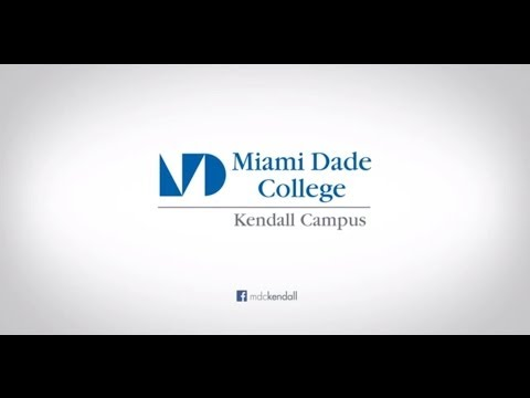 Miami Dade College  (Kendall Campus) - Video.