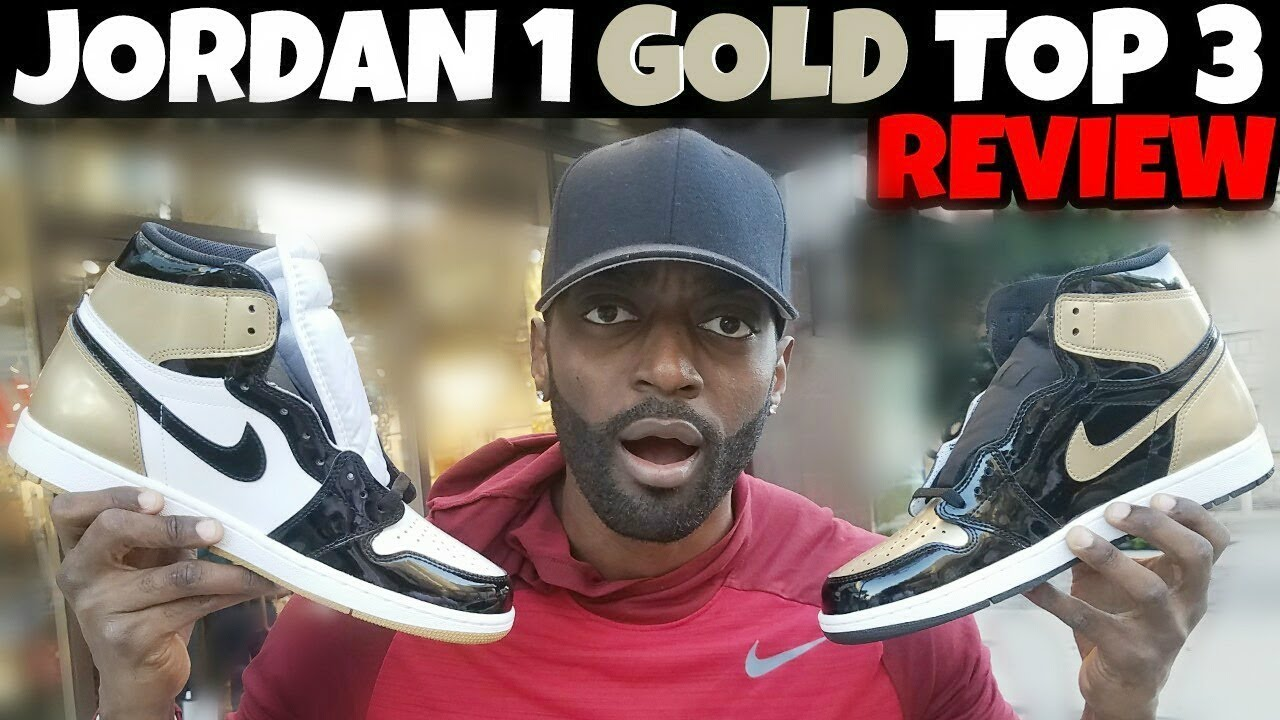 JORDAN 1 GOLD TOP 3 FULL DETAIL REVIEW | PICK UP VLOG