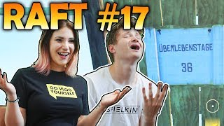 36 Tage ALLEINE MIT KATI! | Raft #17 | Spielkind Gaming