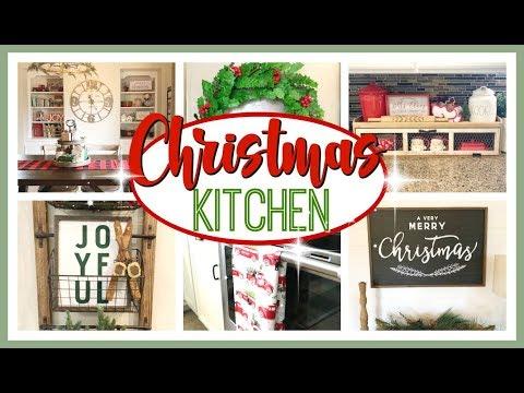 CHRISTMAS KITCHEN DECORATE WITH ME 2019 | CHRISTMAS KITCHEN DECOR IDEAS