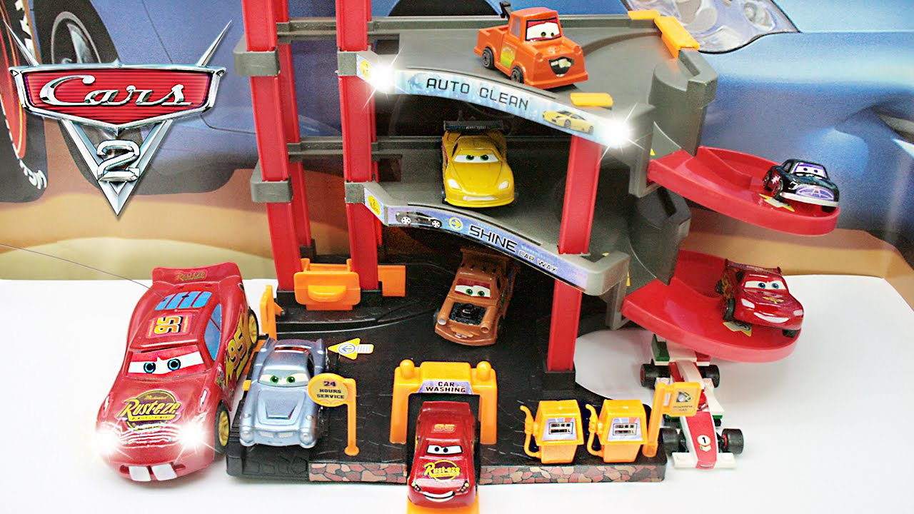 Disney Cars Parking Garage