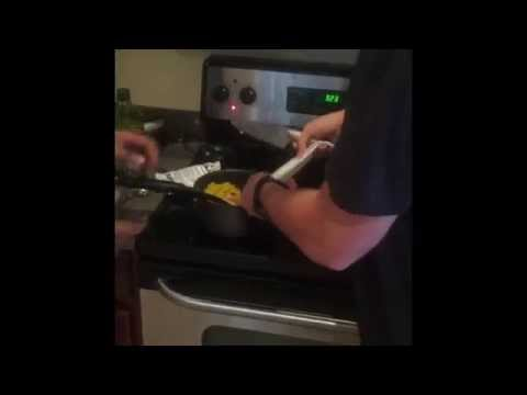 Cooking with Jensen and Sam