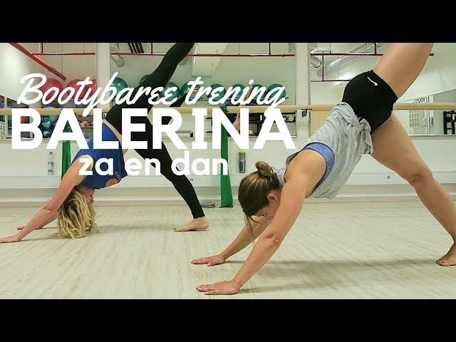 Postala sem balerina za en dan/ vog