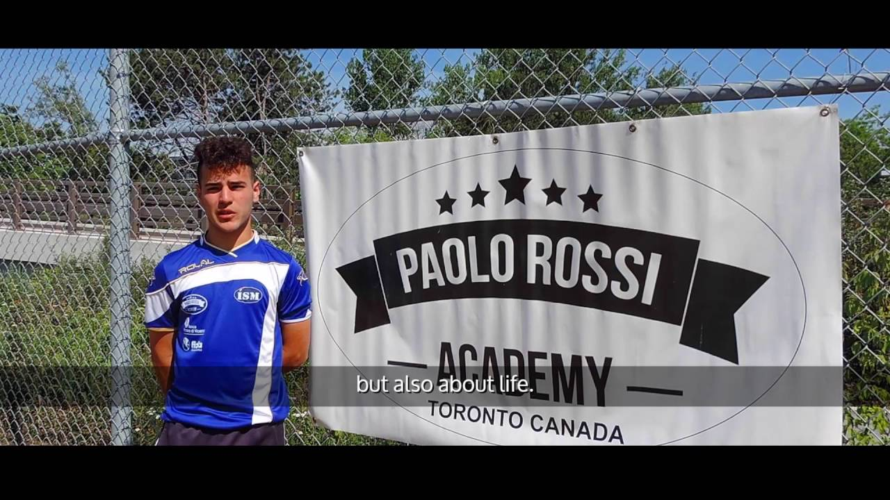 Paolo Rossi Academy Camps in Canada