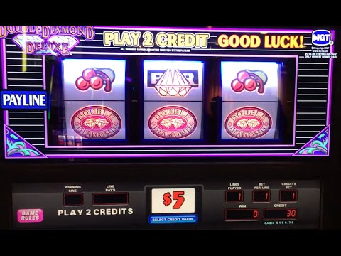 $5 Double Diamond Deluxe #ARBY ✦LIVE PLAY✦ Slot Machine at Flamingo, Las Vegas