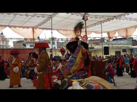 Cham (Tibetan buddhist ritual dance) by NTLA (Part of Nangsa Woebum Namthar)