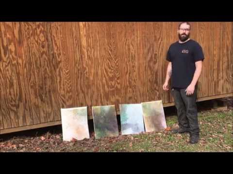 Painting with Bullets and Explosions