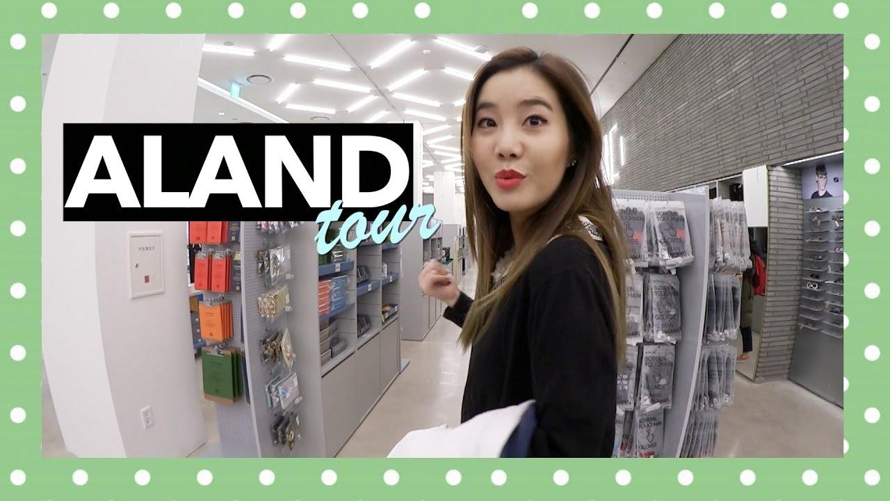 ALAND Tour: Korean Fashion And Beauty Store!