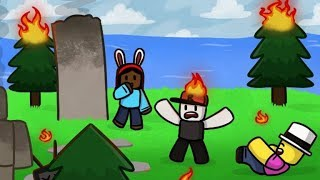[Natural Disaster Survival!] ROBLOX Livestream with friends!!