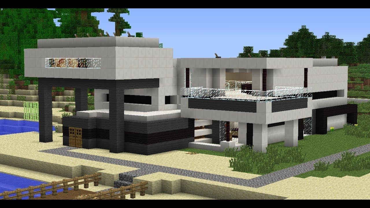 Construye y destruye ep 1 youtube for Como hacer una casa moderna y grande en minecraft 1 5 2