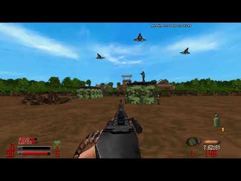 VietDoom Alpha 0.1 Gameplay (levels 1 And 2)