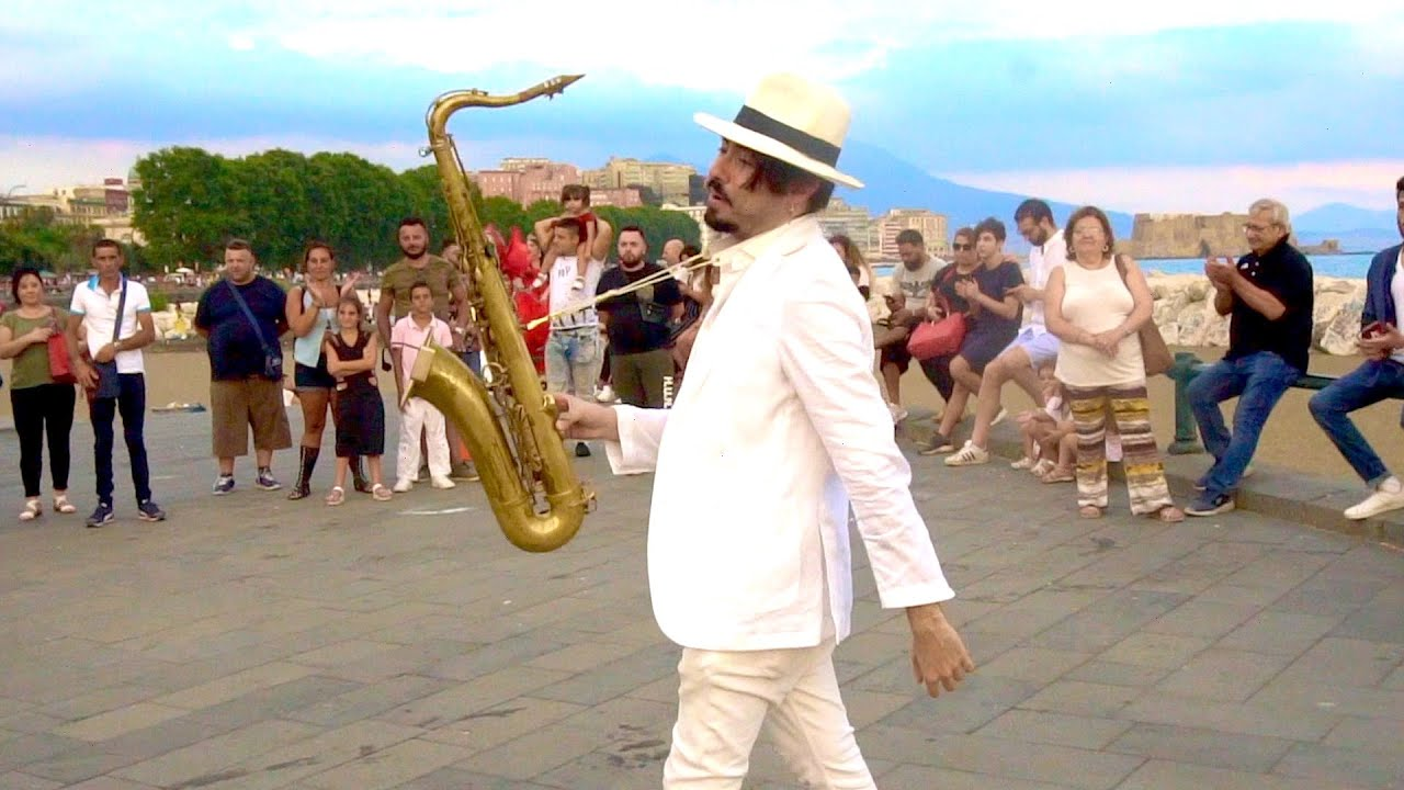 """Stand By Me"" - STREET SAX PERFORMANCE"