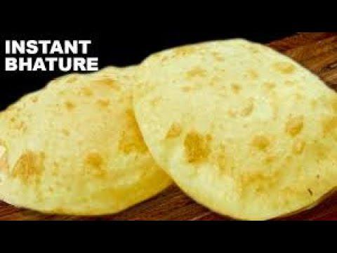 Delhi wale BHATURE recipe in Hindi/AGARWAL KITCHEN / Chole Bhature recipe in hindi