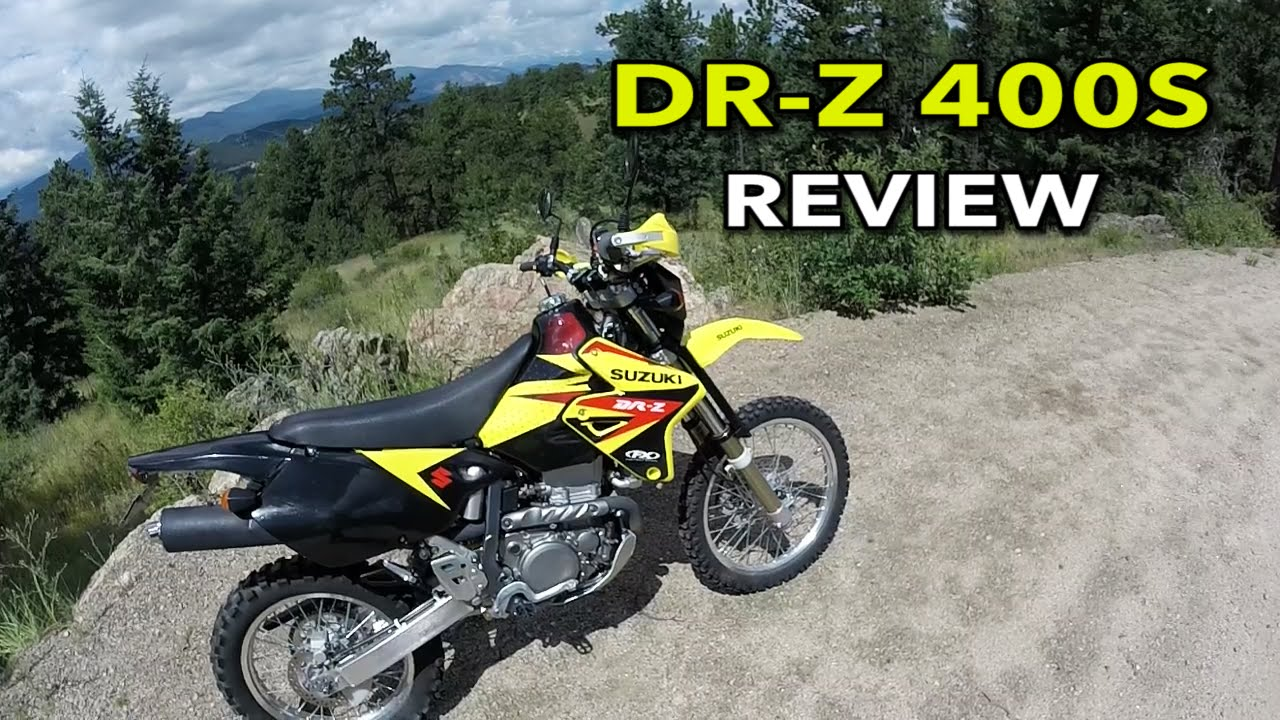 drz400 review - youtube