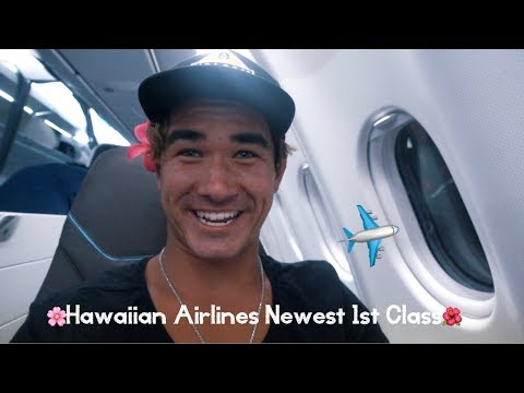 Hawaiian Airlines Newest 1st class!