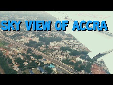 ACCRA: Aerial Beauty of Ghana's Capital City-Accra Ghana