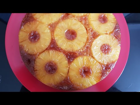 gâteau-moelleux-à-l'ananas-facile