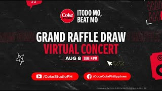 Don't miss the COKE STUDIO grand raffle draw and virtual concert!