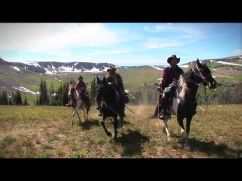 """Wyoming by horse - Just Riding"" from YouTube · High Definition · Duration:  10 minutes 2 seconds  · 239.000+ views · uploaded on 18.02.2010 · uploaded by Michel Wathieu"