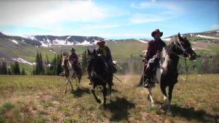 """""""Wyoming by horse - Just Riding"""""""