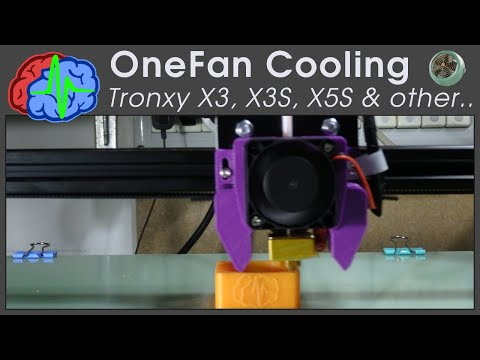 3d Printer Cooling Fan For Tronxy X3, X3S, X5S And Other Printers