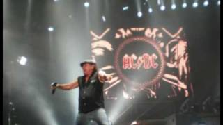 AC/DC - Spoilin' For A Fight (Slideshow of photos from 23/04/2009)