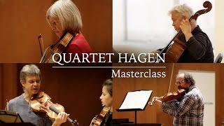 Masterclass amb el Quartet Hagen - Cicle Liceu Cambra