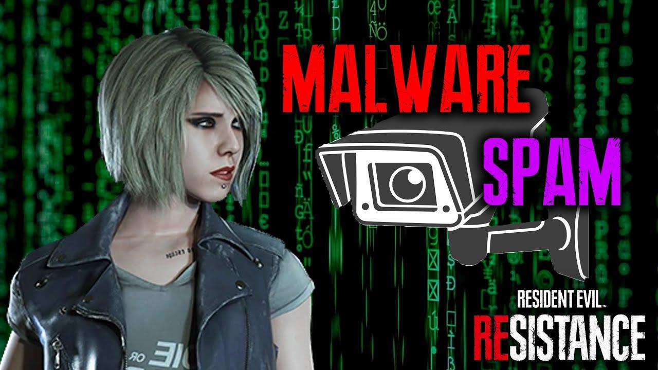 RESIDENT EVIL REsistance - CAMERA MALWARE SPAM JAN Survivor Build Gameplay
