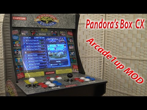 Arcade1up Pandora's Box CX Upgrade Tutorial from Wicked Gamer & Collector