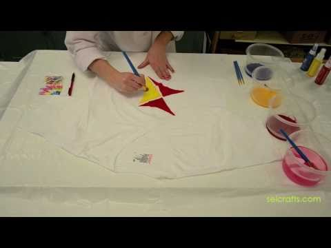 Sei tumble dye painting method tutorial youtube for Sei crafts tumble dye