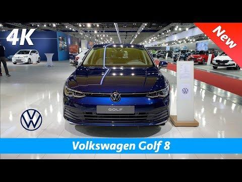 Volkswagen Golf 8 2020 - FIRST In-depth Look In 4K   Interior - Exterior
