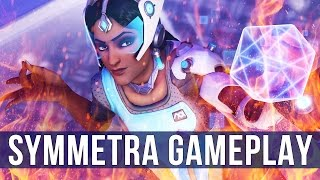 Overwatch: Symmetra On Fire! (Play of the Game)