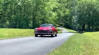 190sl Mercedes-Benz W121 Driving