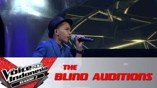 Christiano Still Loving You | The Blind Auditions | The Voice Kids Indonesia S2 GTV 2017