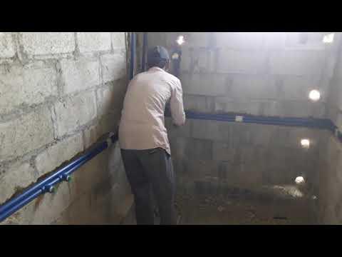 Plumbing work in asia