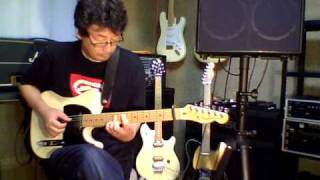Every Breath You Take Solo Guitar cover / Fender USA American Tele + Roland AC-60 with ZOOM Q3