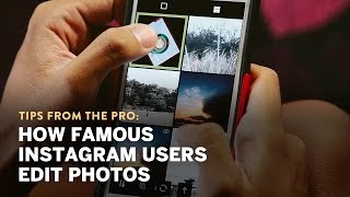 How Instagram famous users edit their photos – Interview with