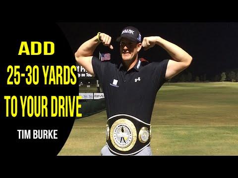 Tim Burke - Long Drive Champ - Golf Swing Analysis