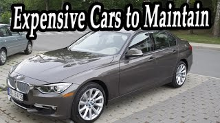 Top 7 most expensive cars to maintain over 10 years. interesting cars