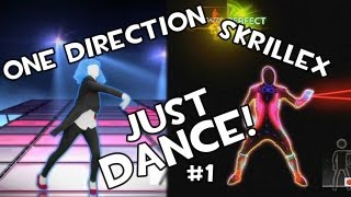 Rock n Roll (Skrillex) + What Makes You Beautiful | Just Dance 4 c/ los pibes