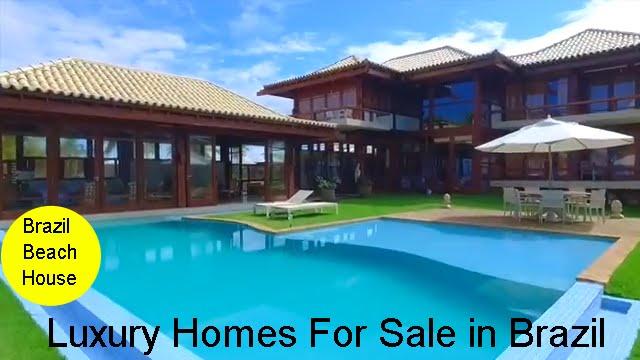 Brazil Luxury Homes For Sale In Praia Do Forte Bahia Youtube