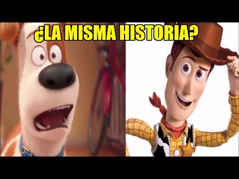 Teoría: ¿La HISTORIA de TOY STORY y LA VIDA SECRETAS DE TUS MASCOTAS son la MISMA?