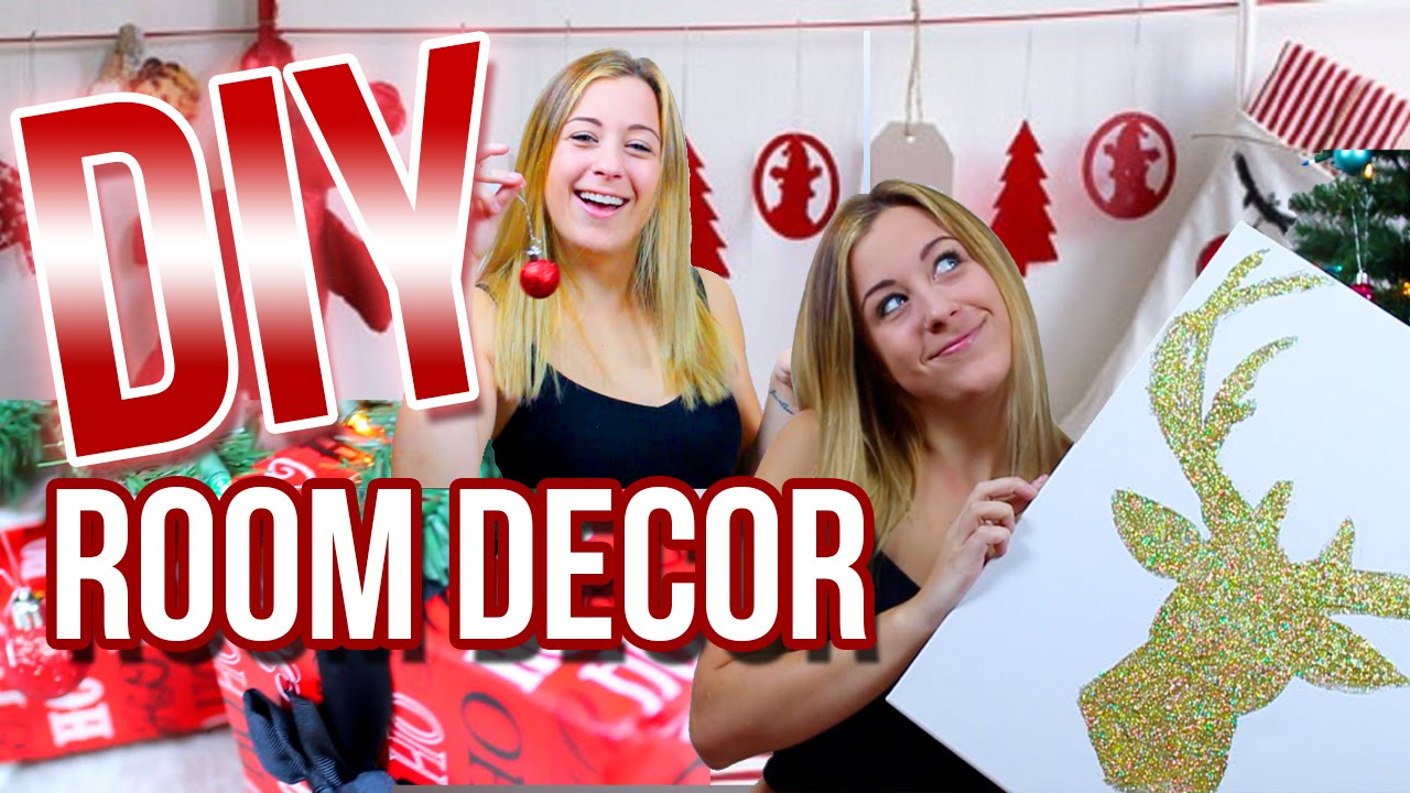 DIY Holiday Room Decor! Cheap & Easy Ways To Decorate Your