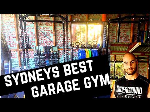 A Look Inside Sydney's Best Garage Gym